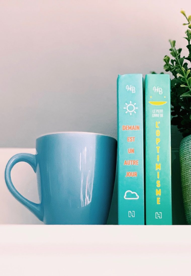 3 RS : un gel nettoyant bio, un livre pour travailler son optimisme etc…