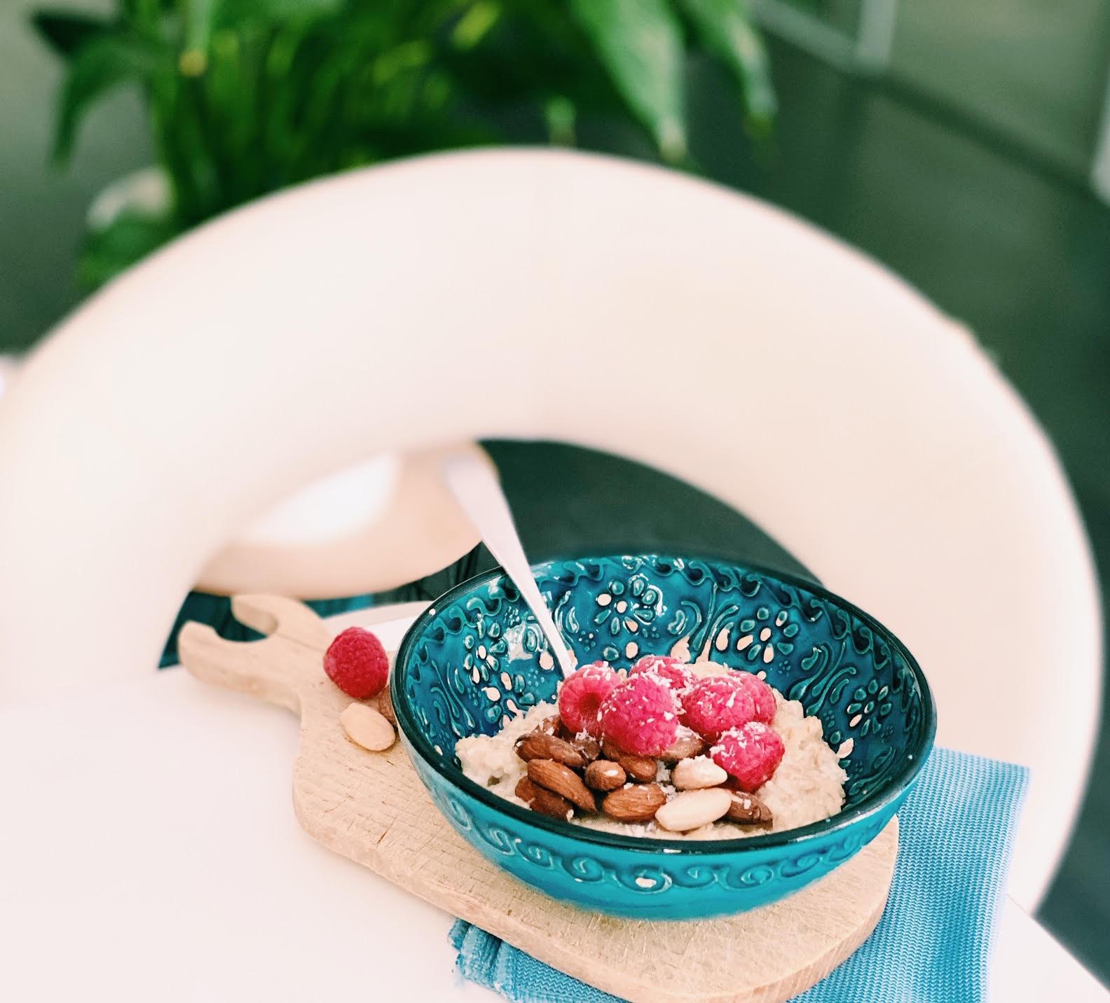 Ma cure healthy d'avoine et fruits rouges pour me préparer à l'été !