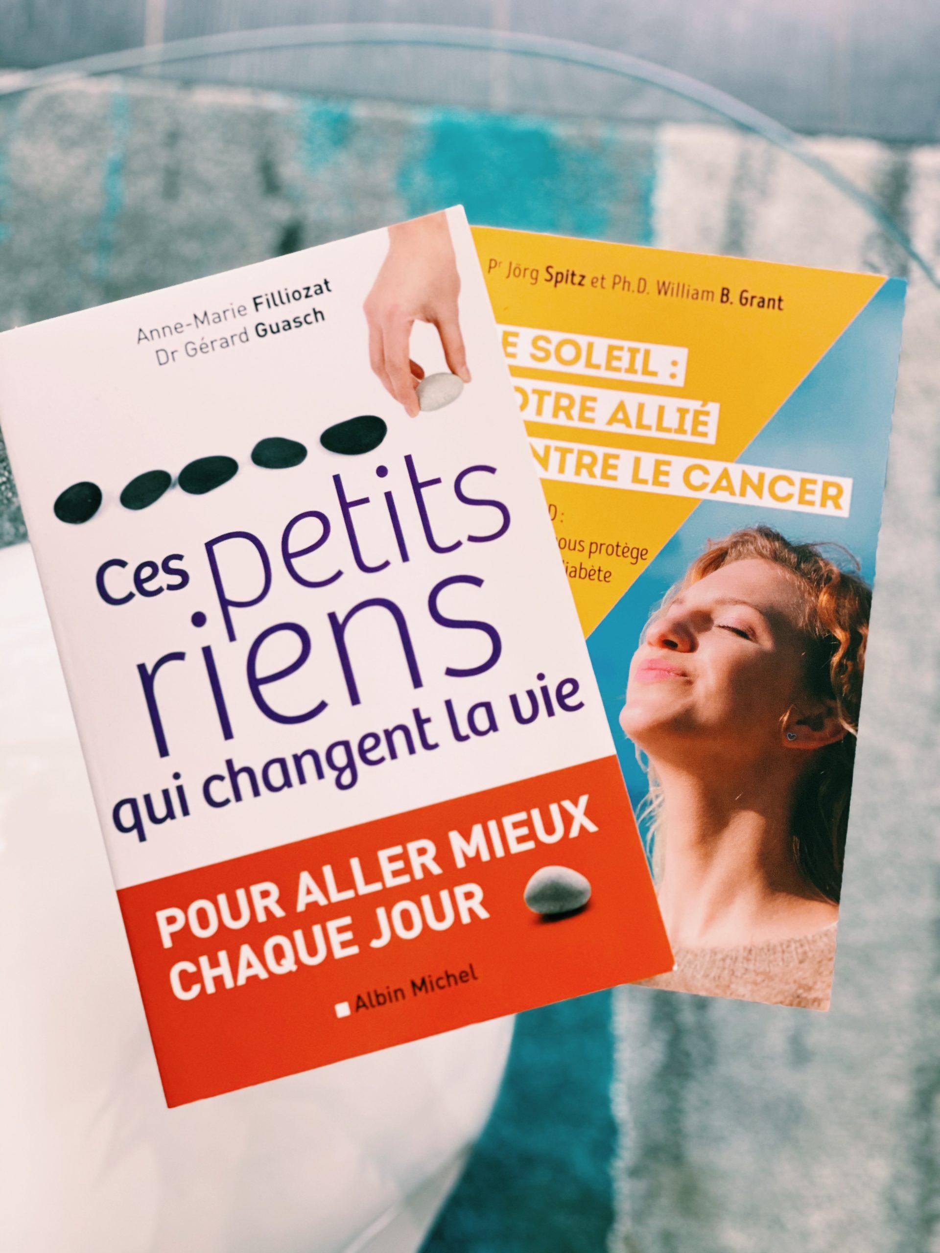 #3 ☀️3 RS : des livres à lire, mon démaquillant de l'été…