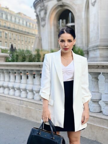 Ma sélection de blazers blancs - Virginie Hilssone